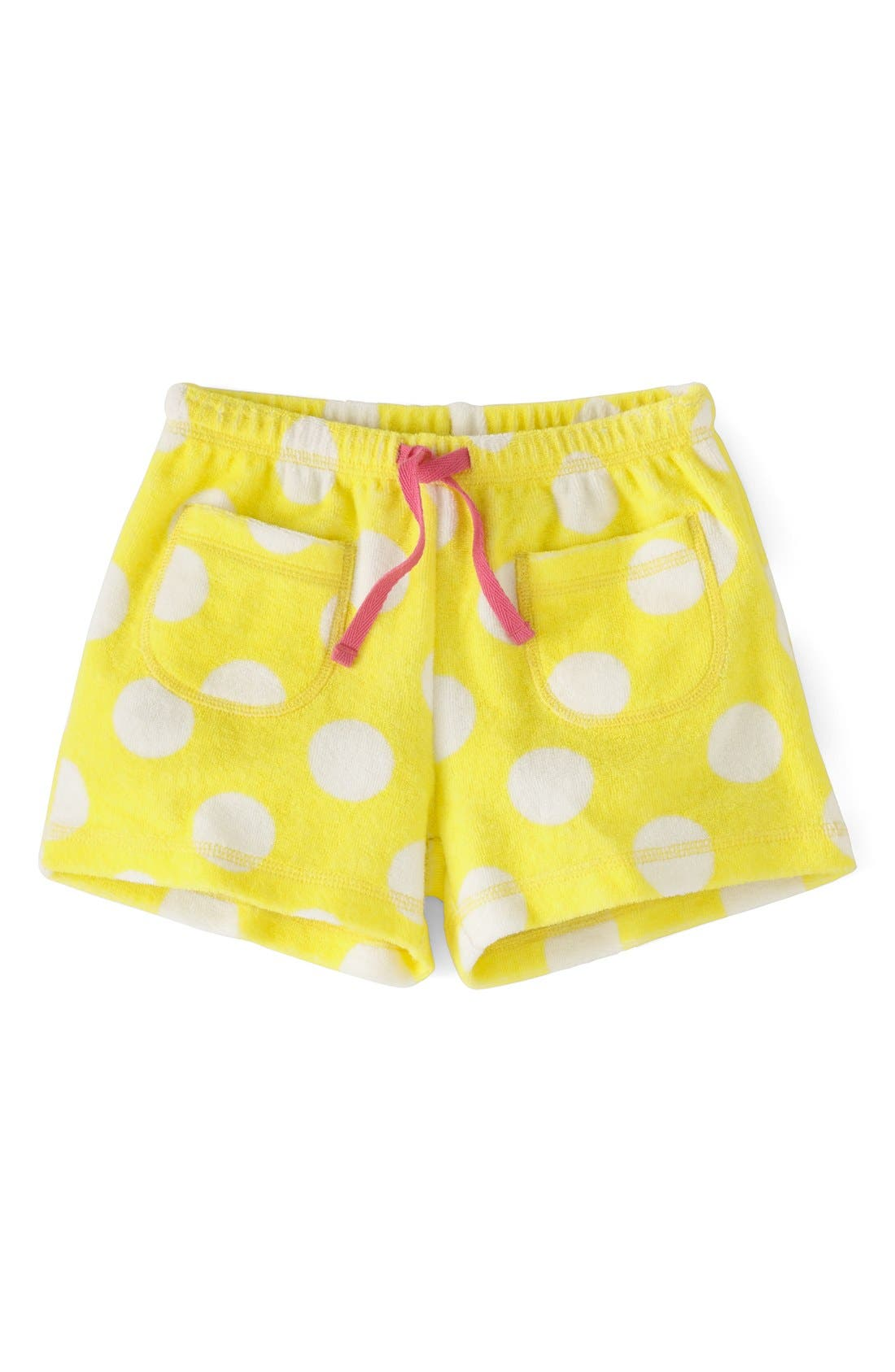 Alternate Image 1 Selected - Mini Boden 'Towelling' Shorts (Toddler Girls, Little Girls & Big Girls)(Online Only)