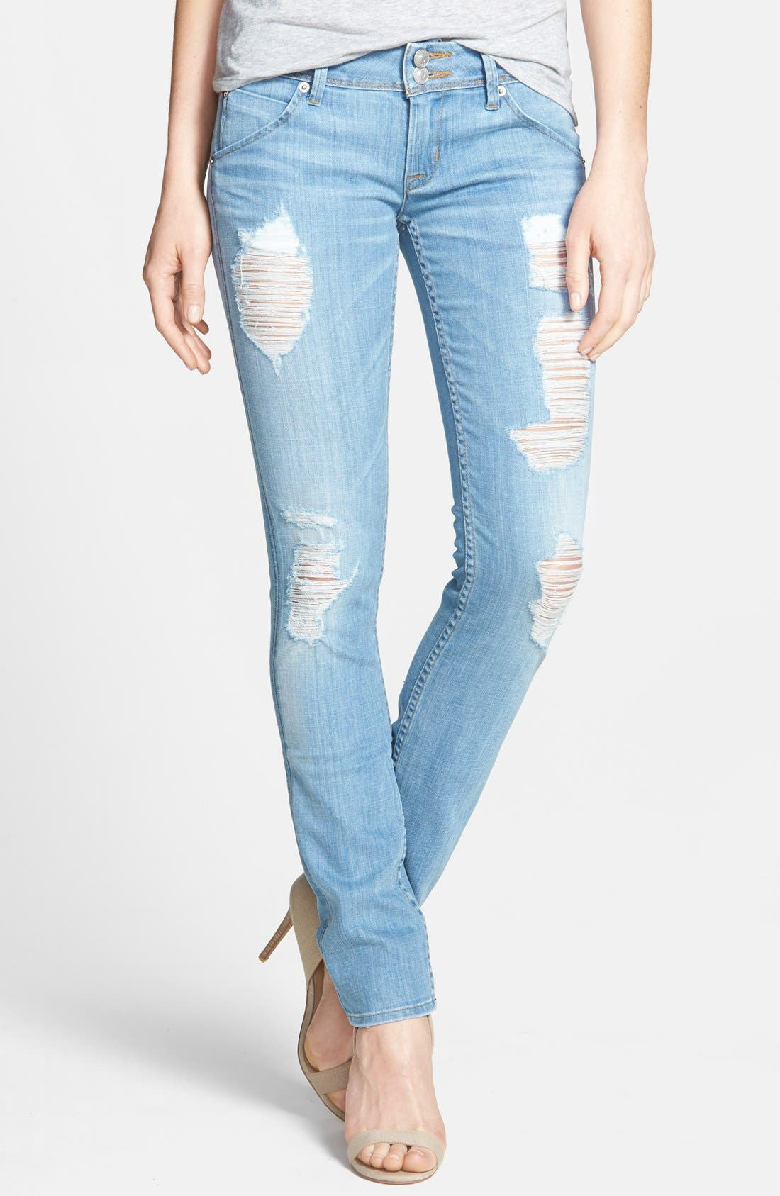 Main Image - Hudson Jeans 'Collin' Skinny Jeans (Soul Search)