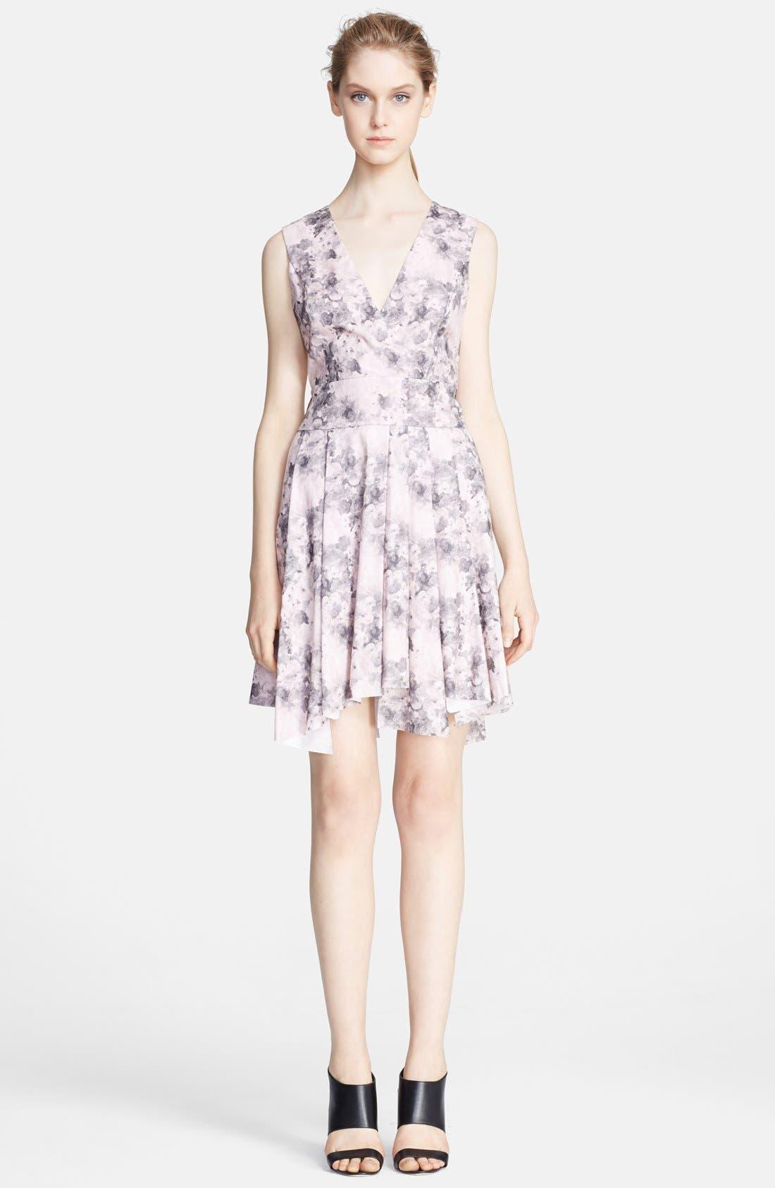 Main Image - Robert Rodriguez Bonded Floral Print Dress