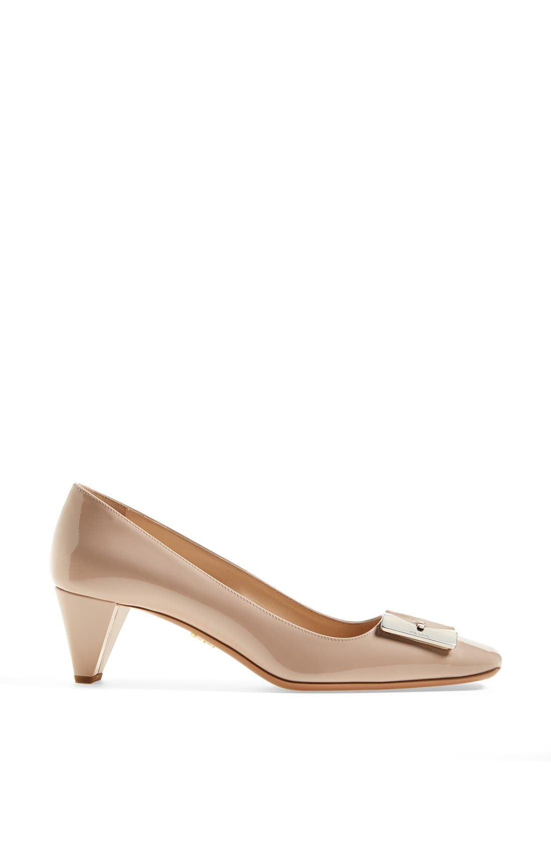 Alternate Image 4  - Prada Buckle Pump