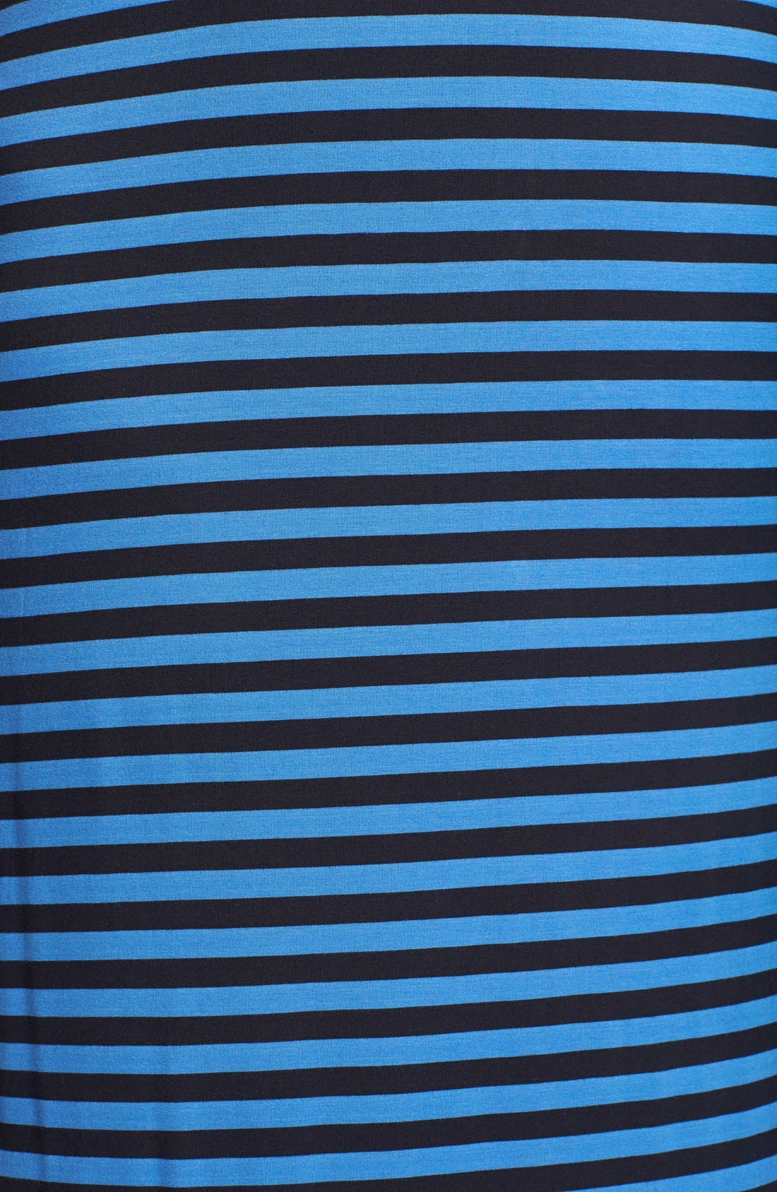 Alternate Image 3  - MICHAEL Michael Kors Stripe Drawstring Waist Stretch Knit Maxi Dress (Plus Size)