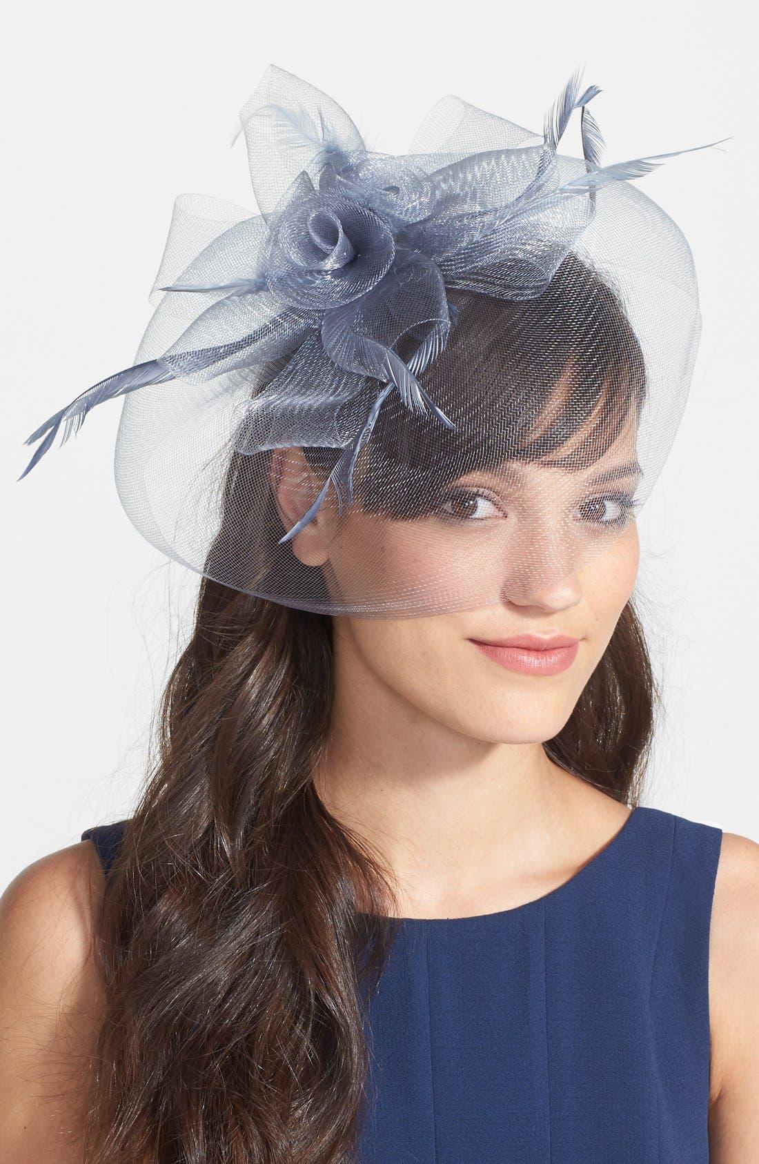 Main Image - Tasha 'Flawless and Cautious' Fascinator Headband