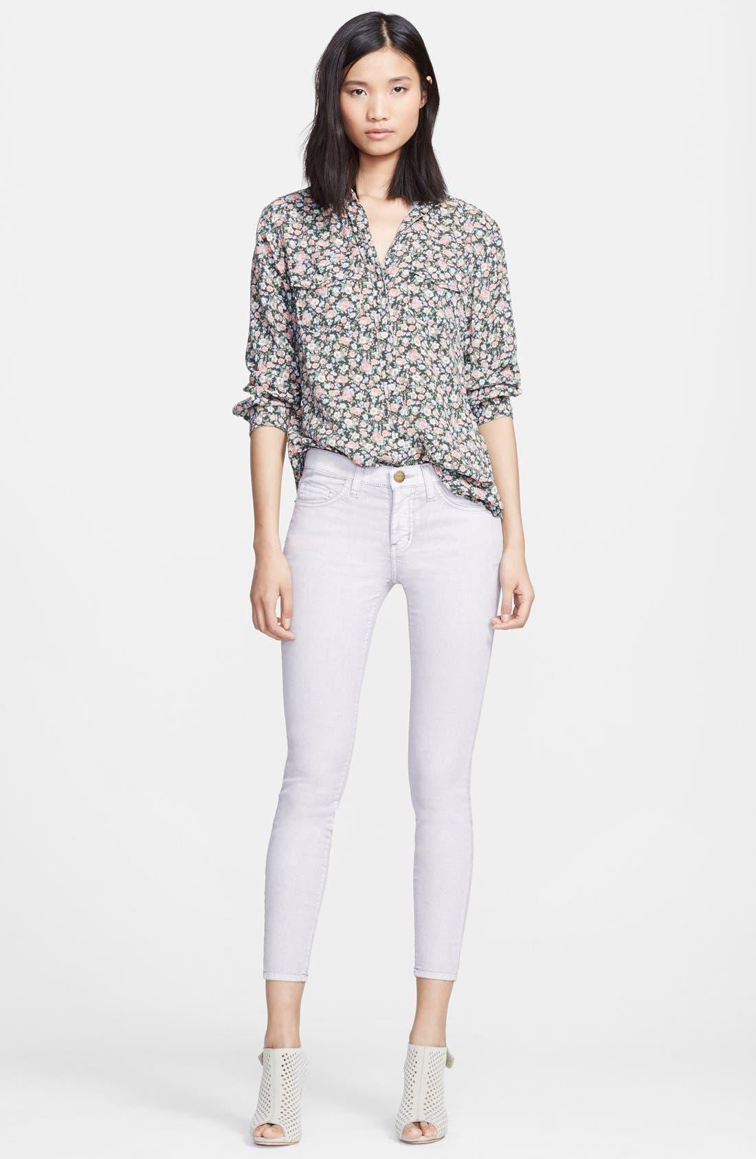 Main Image - Current/Elliott 'The Perfect Shirt' Floral Print Shirt