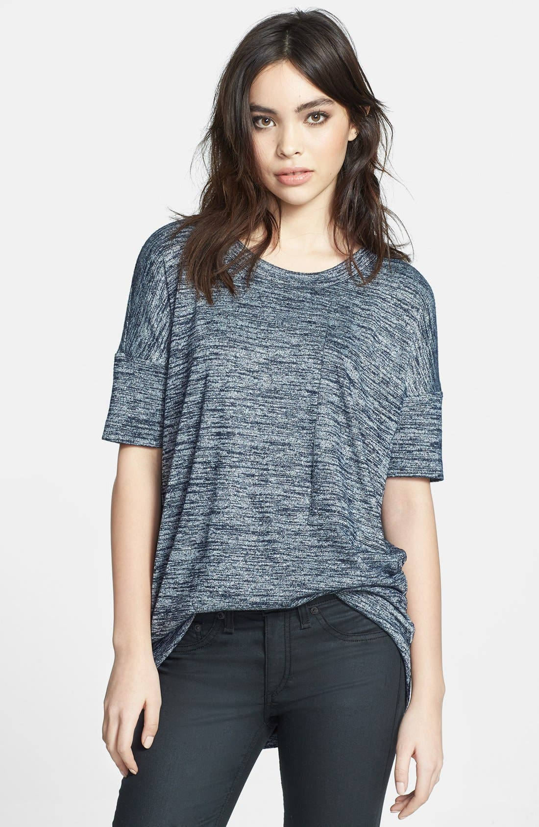 Alternate Image 1 Selected - rag & bone/JEAN Oversized Knit Tee