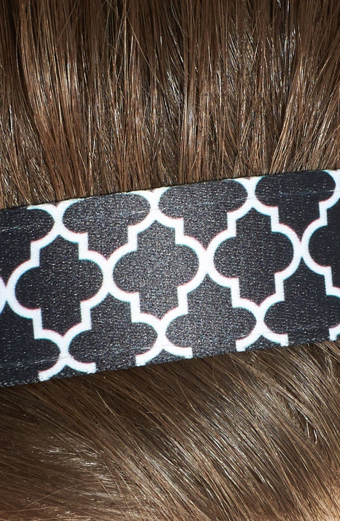 Alternate Image 3  - Sweaty Bands 'Moroccan My World' Fitness Head Wrap