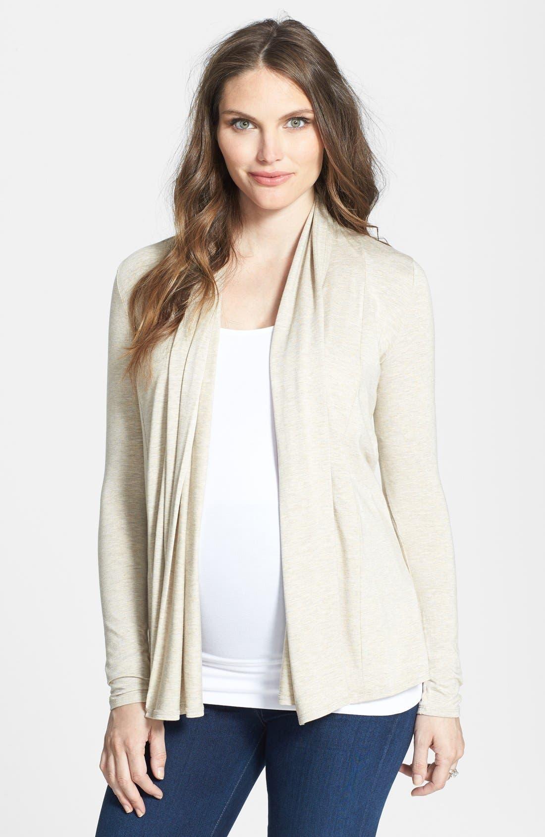 Alternate Image 1 Selected - Tart Maternity 'Lexa' Wrap Cardigan