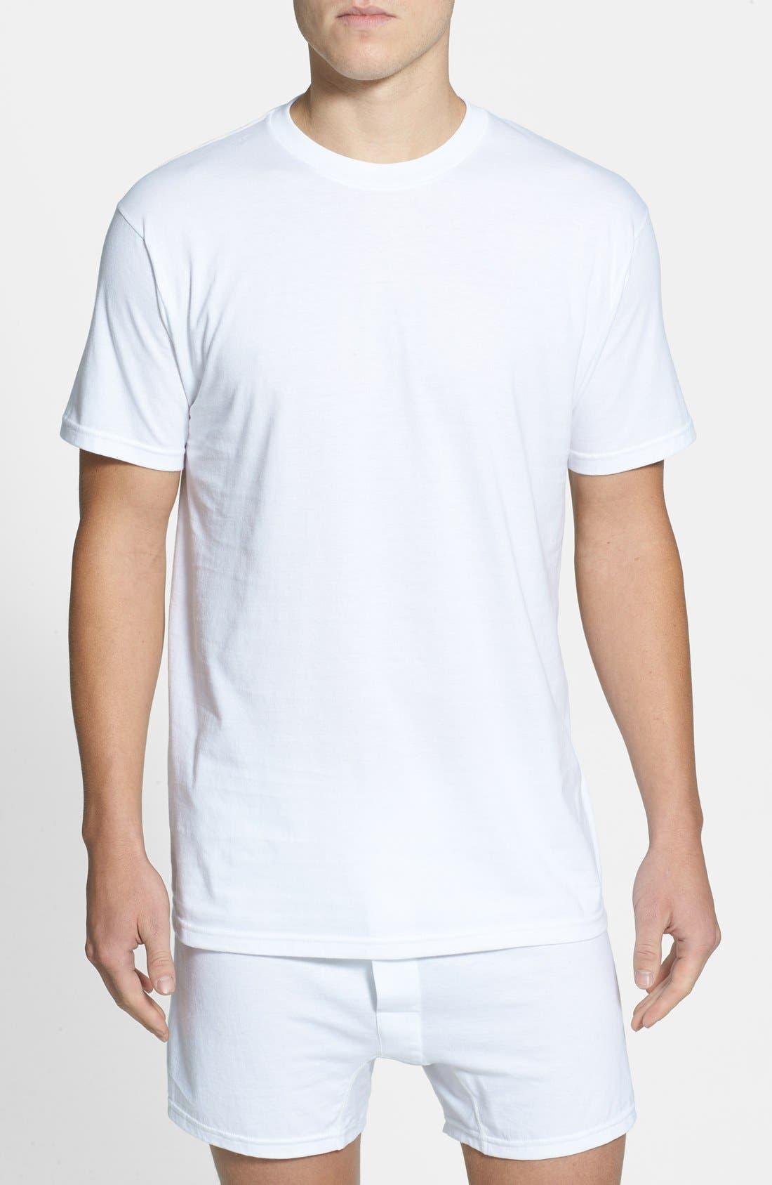 Nordstrom Men's Shop Regular Fit 4-Pack Supima® Cotton T-Shirts