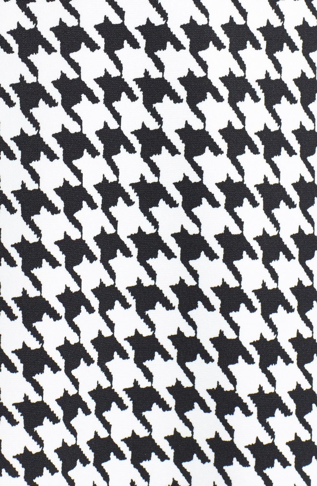 Alternate Image 3  - MICHAEL Michael Kors Zip Shoulder Print Drop Waist Dress (Online Only)