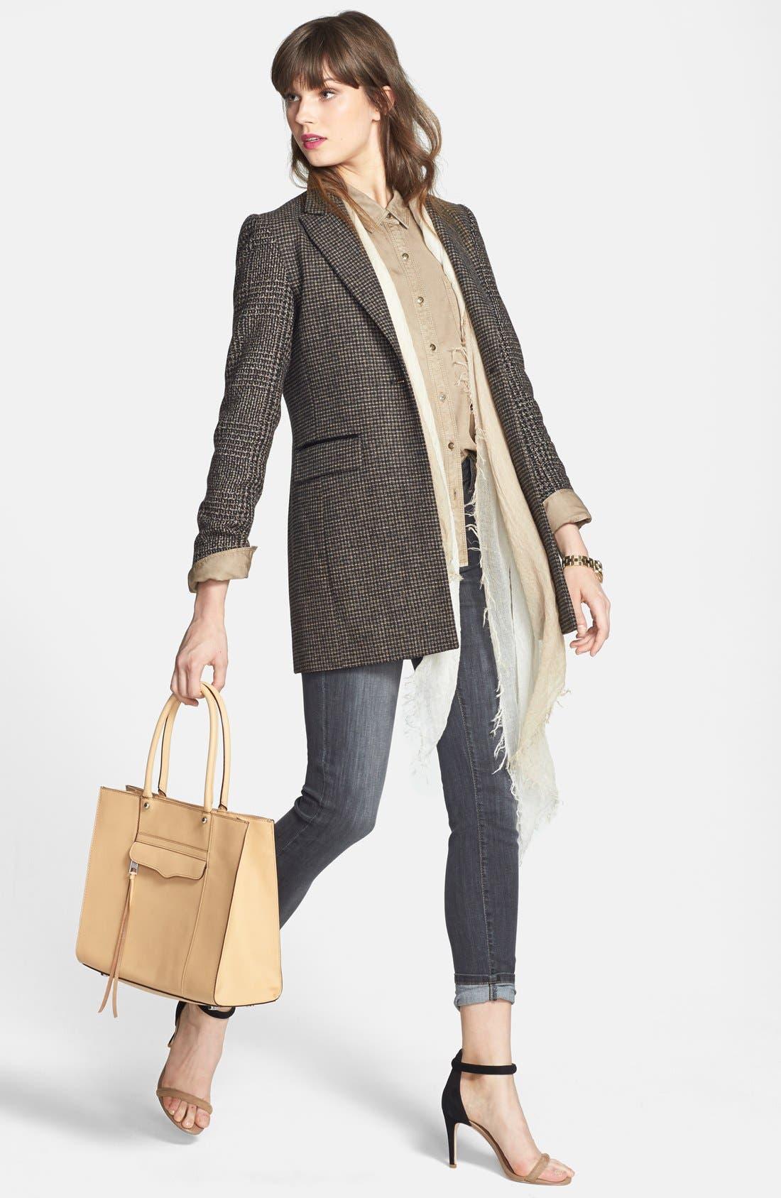 Alternate Image 6  - NYDJ 'Ami' Stretch Skinny Jeans (Dakota) (Regular & Petite)