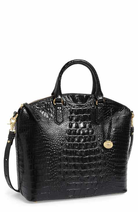 ede6541352af Brahmin Leah Croc Embossed Leather Crossbody Bag.  225.00. Product Image