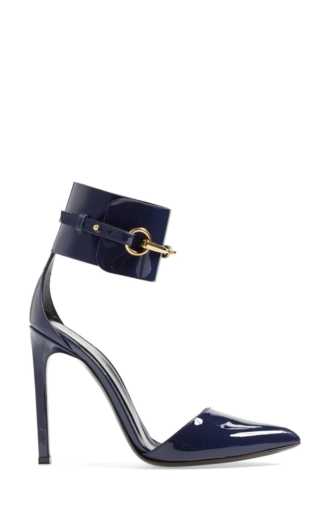 Alternate Image 4  - Gucci 'Ursula' Ankle Cuff Pointy Toe Pump