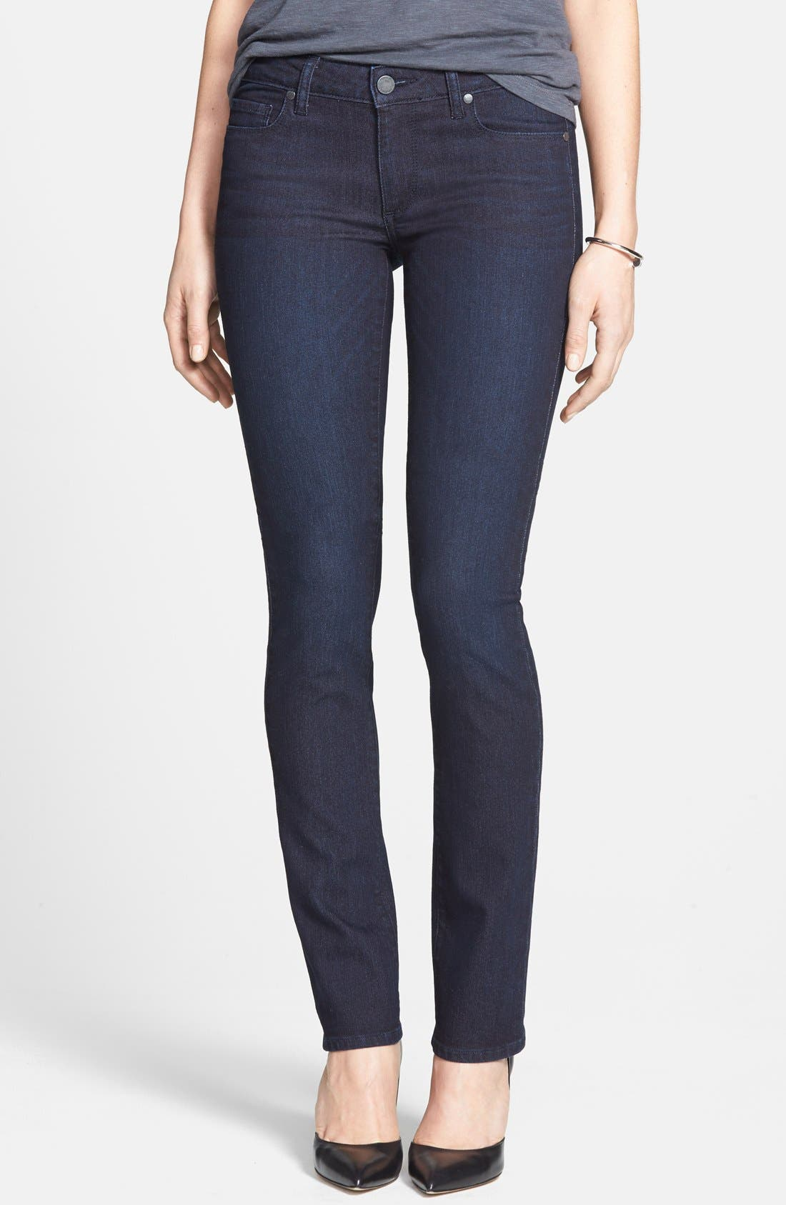 Main Image - Paige Denim 'Skyline' Straight Leg Jeans (Palmer) (Nordstrom Exclusive)