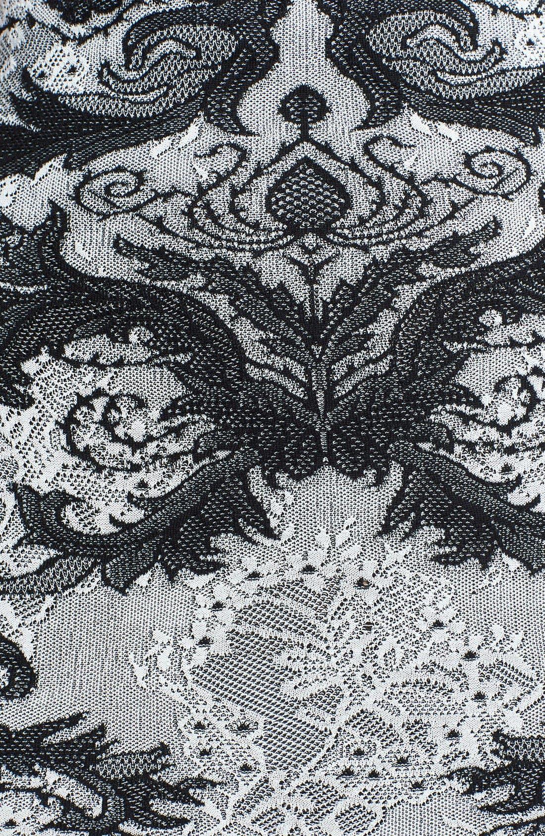 Alternate Image 3  - Alexander McQueen Jacquard Knit Body-Con Dress