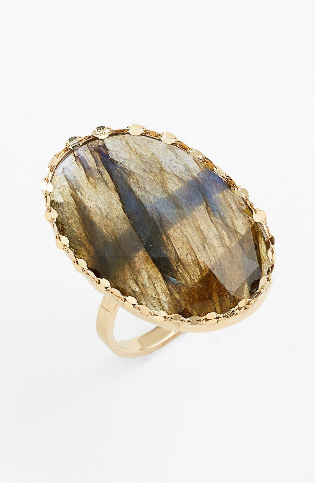 Main Image - Lana Jewelry 'Ultra' Small Labradorite Ring