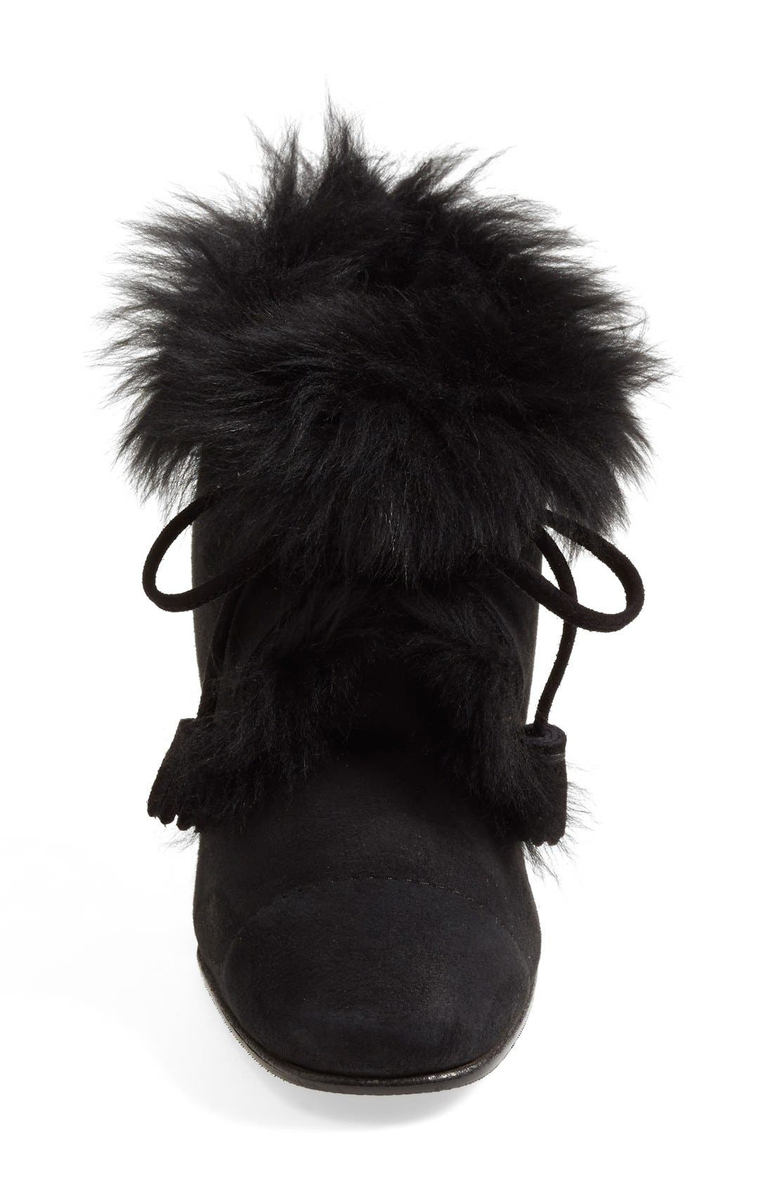 Alternate Image 3  - Pedro Garcia 'Barbara' Genuine Shearling & Leather Bootie (Women)
