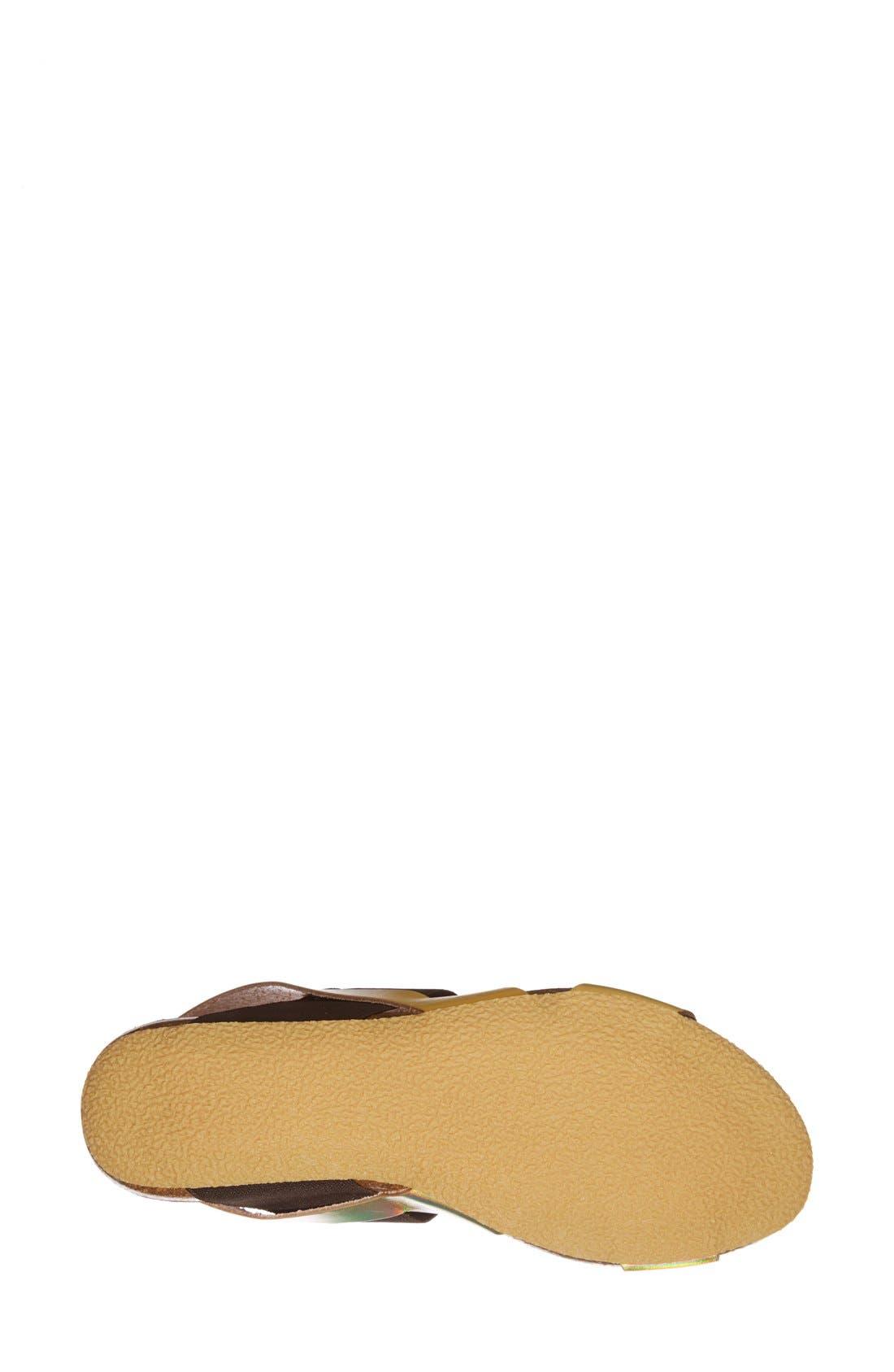 Alternate Image 4  - MTNG Originals 'Annie' Colorblock Sandal