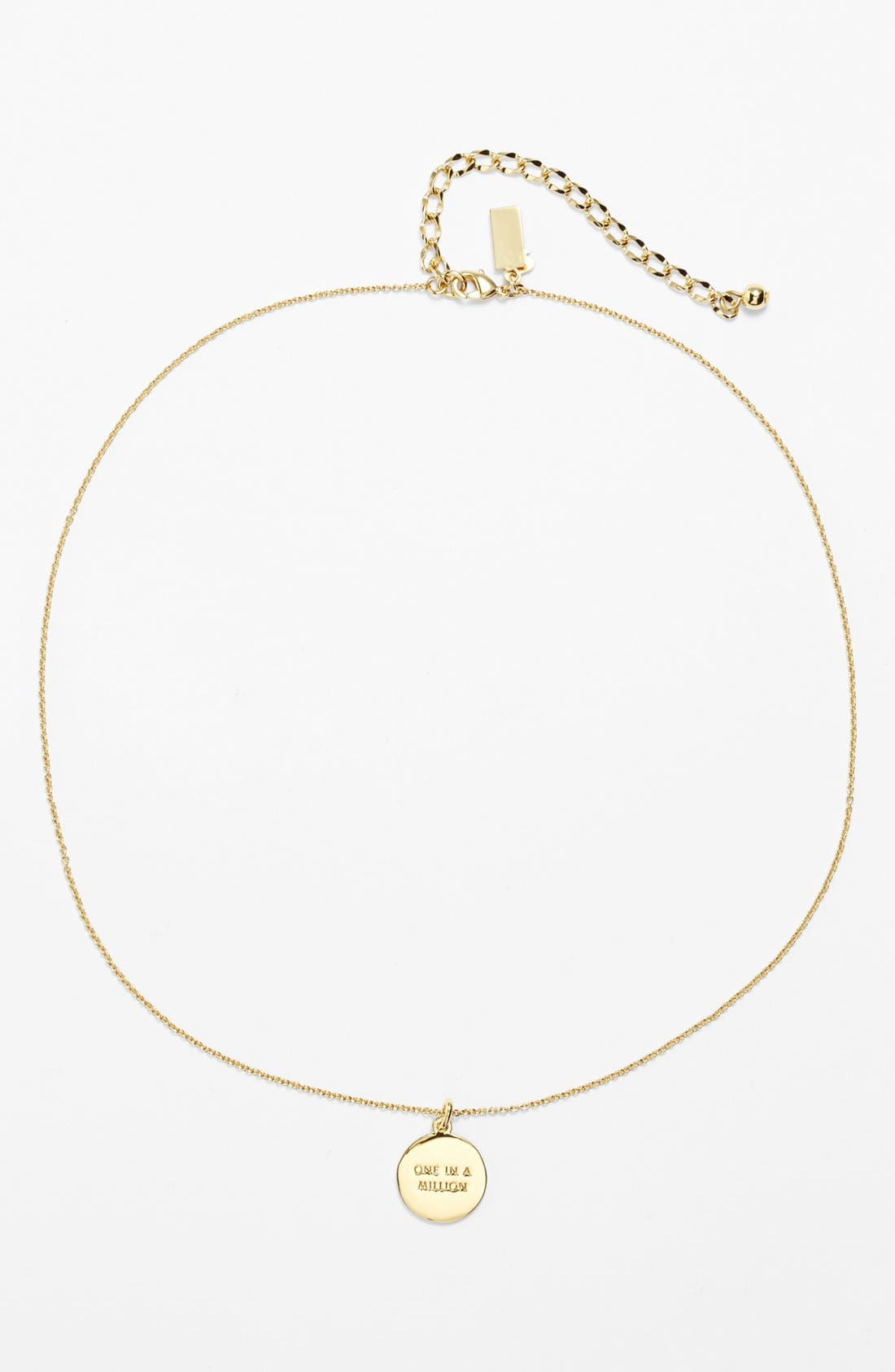 Alternate Image 2  - kate spade new york 'one in a million' initial pendant necklace