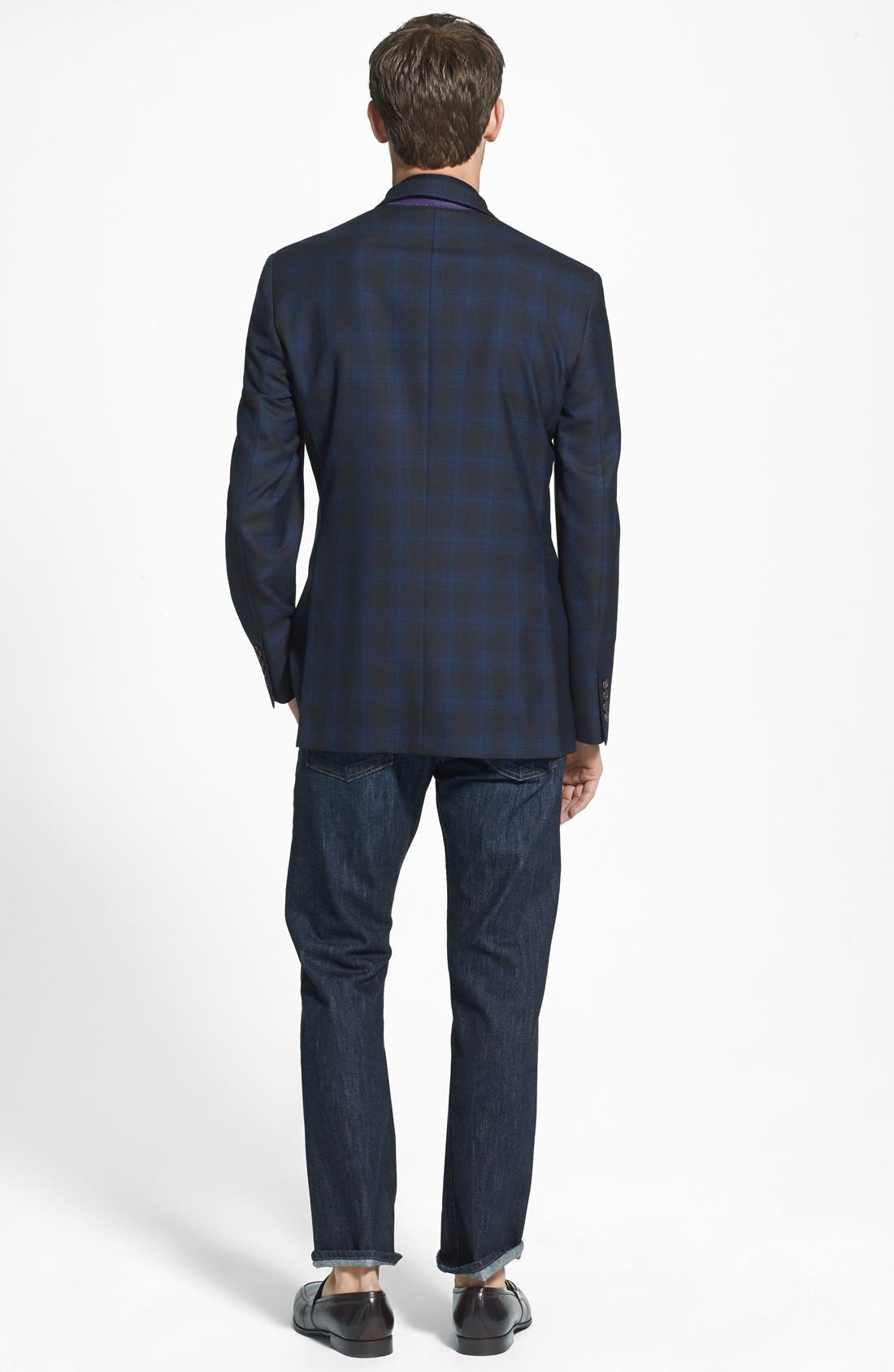 Alternate Image 5  - Ted Baker London 'Jerry' Trim Fit Plaid Sport Coat