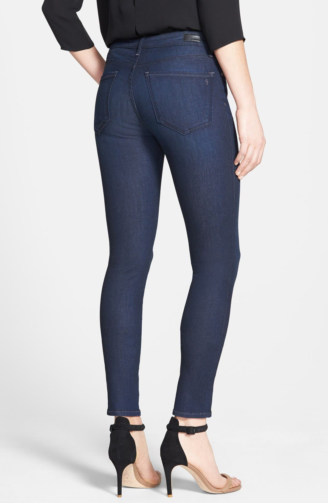 Alternate Image 2  - Joie Stretch Skinny Jeans (Everest)