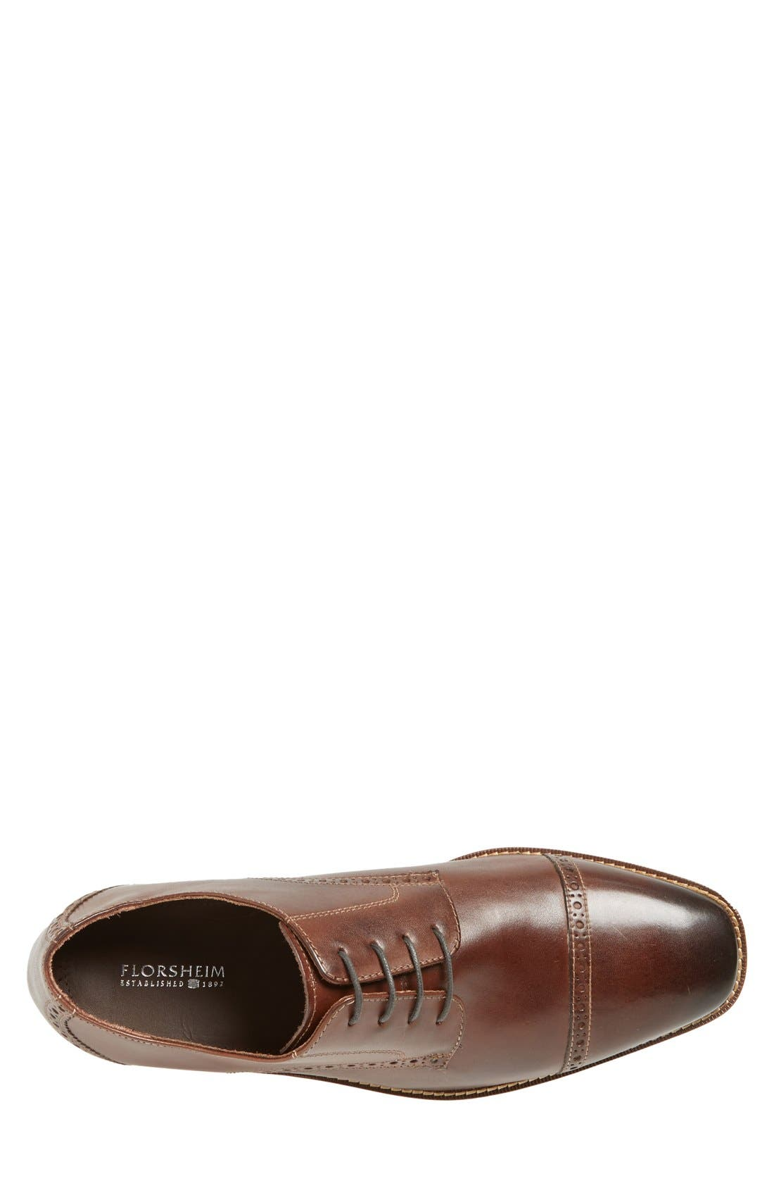 Alternate Image 3  - Florsheim 'Castellano' Cap Toe Derby (Men)