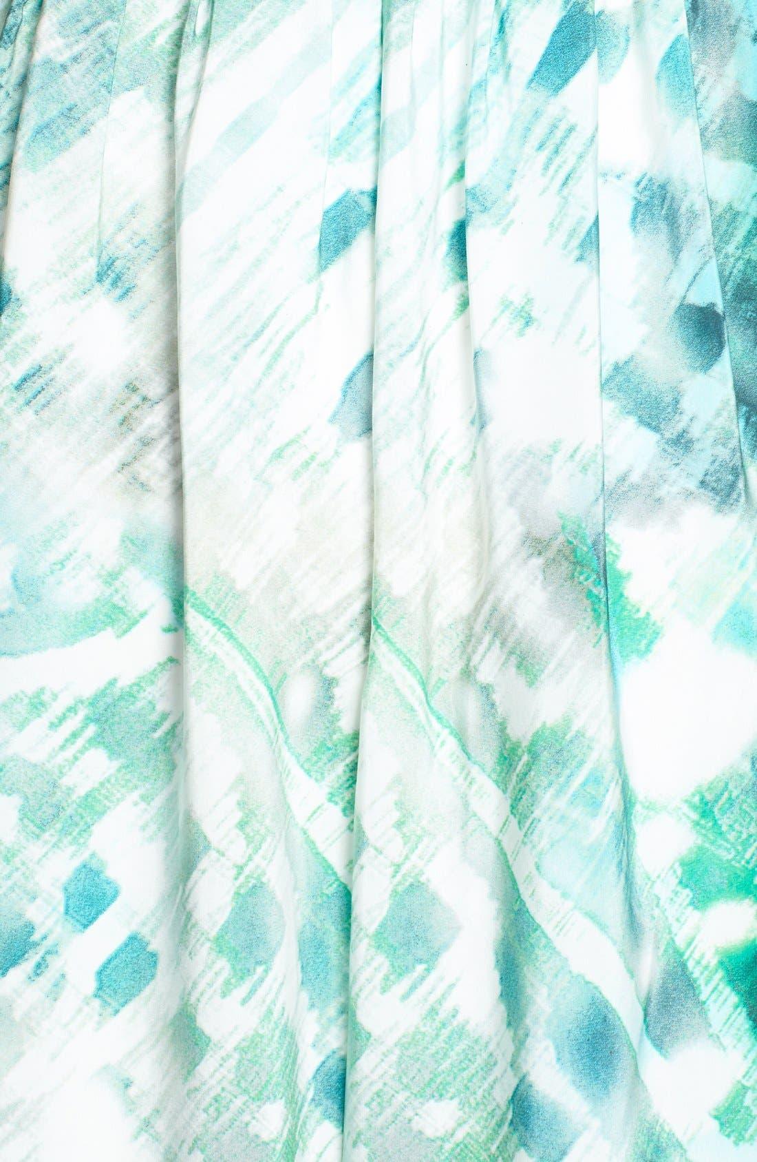 Alternate Image 3  - Parker 'Bayou' Strapless Silk Maxi Dress