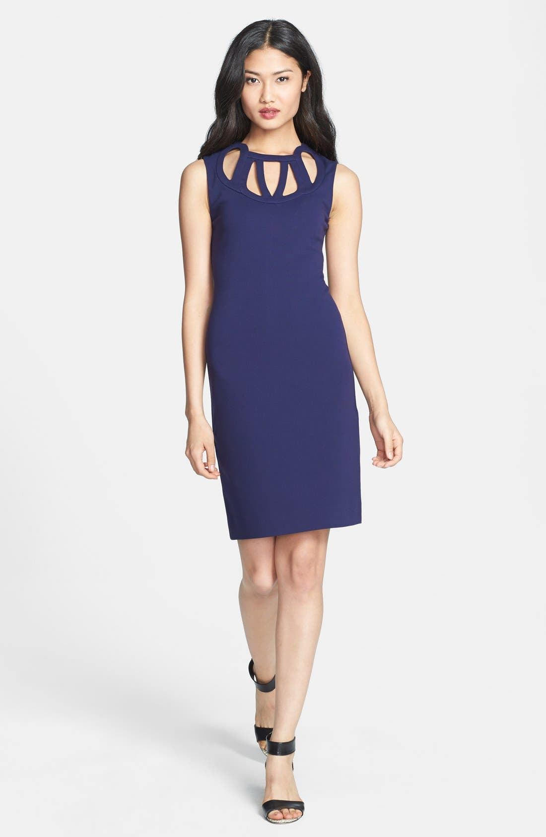 Main Image - Diane von Furstenberg 'Amy' Knit Sheath Dress