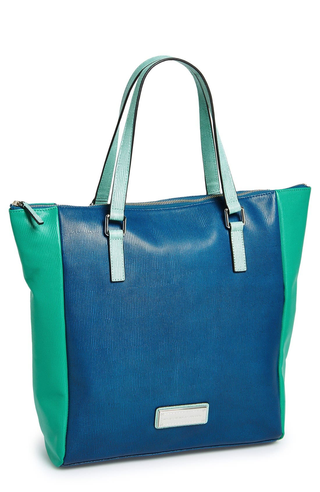 Alternate Image 1 Selected - MARC BY MARC JACOBS 'Take Me' Leather Tote