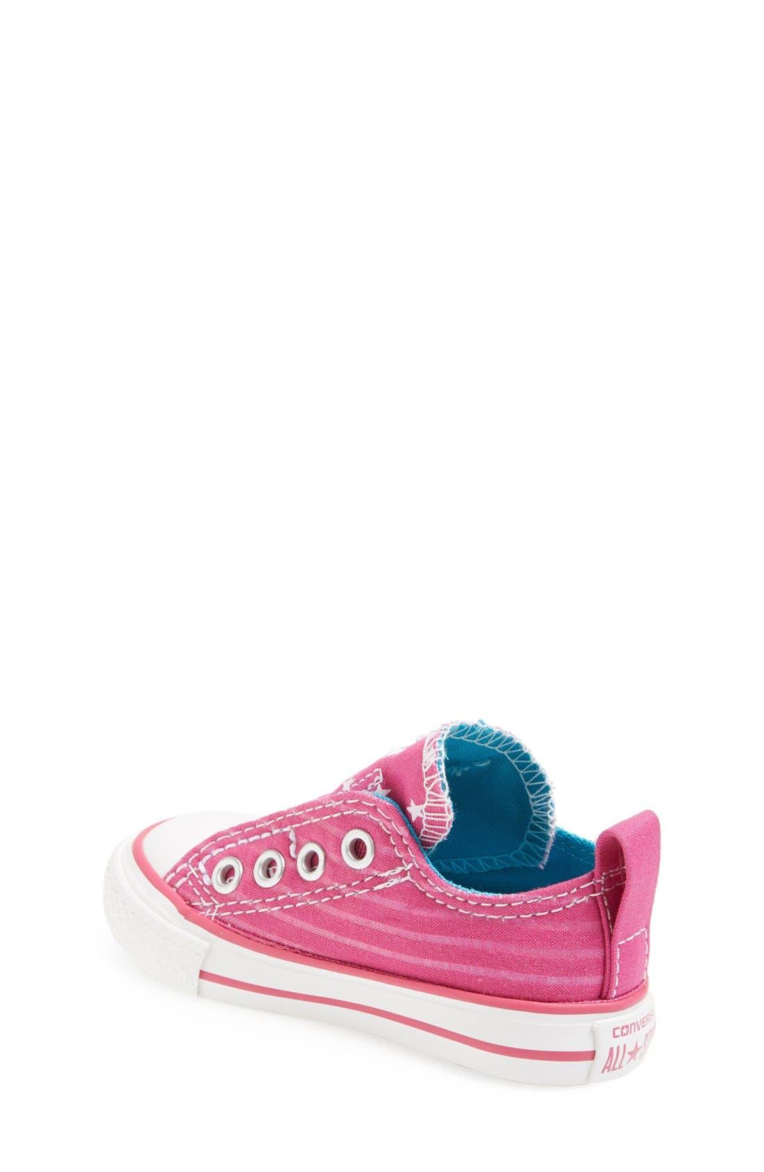 Alternate Image 2  - Converse All Star® Slip-On Sneaker (Baby, Walker & Toddler)