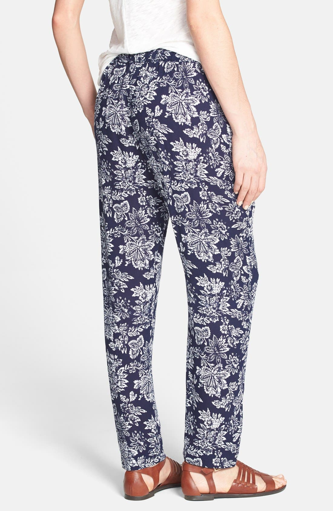 Alternate Image 2  - Ace Delivery Floral Print Pants