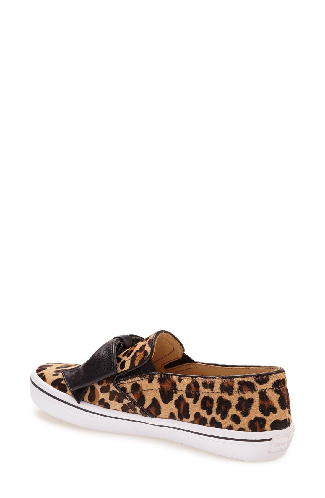 'delise' slip-on sneaker,                             Alternate thumbnail 2, color,                             Camel\ Black