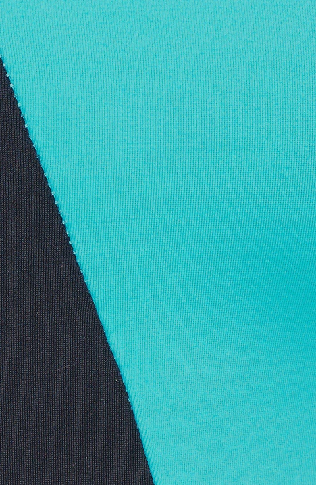 Alternate Image 3  - Onzie 'Geo' Strappy Colorblock Sports Bra
