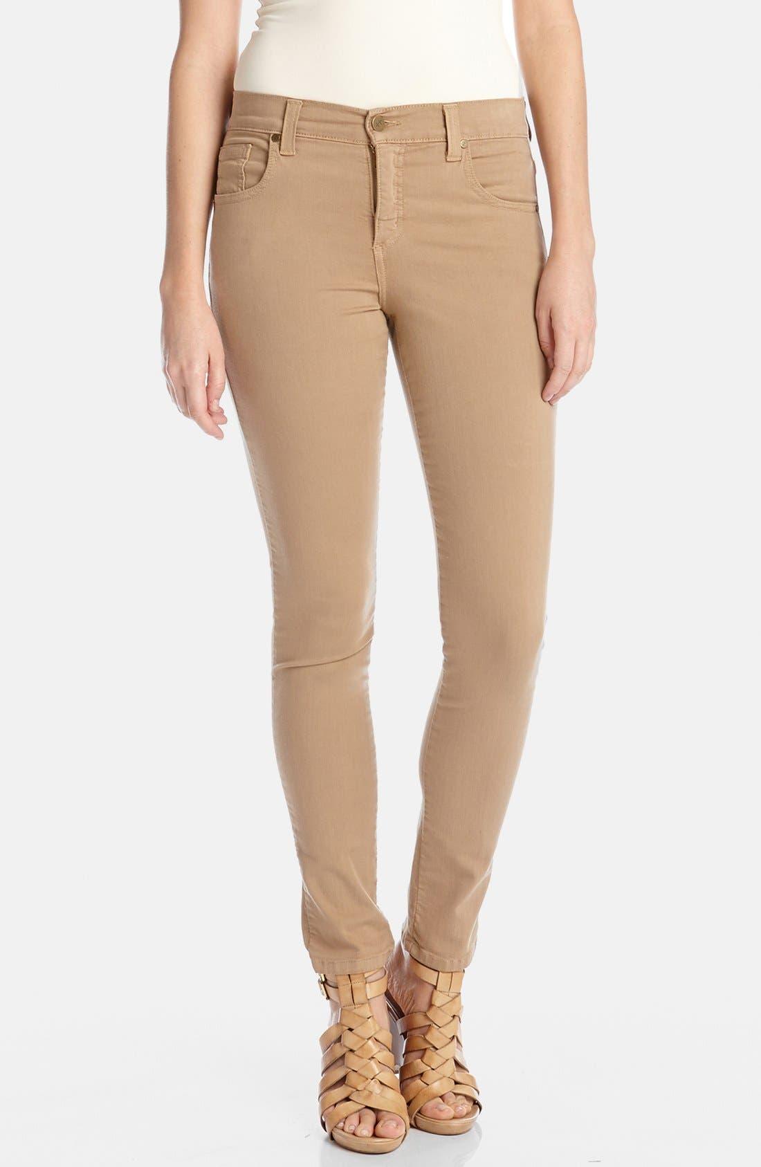 Main Image - Karen Kane 'Zuma' Stretch Twill Skinny Jeans