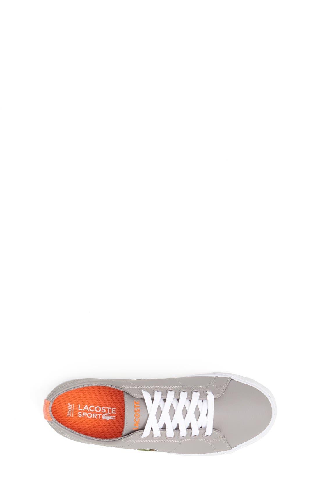 Alternate Image 3  - Lacoste 'Marcel' Sneaker (Toddler, Little Kid & Big Kid)