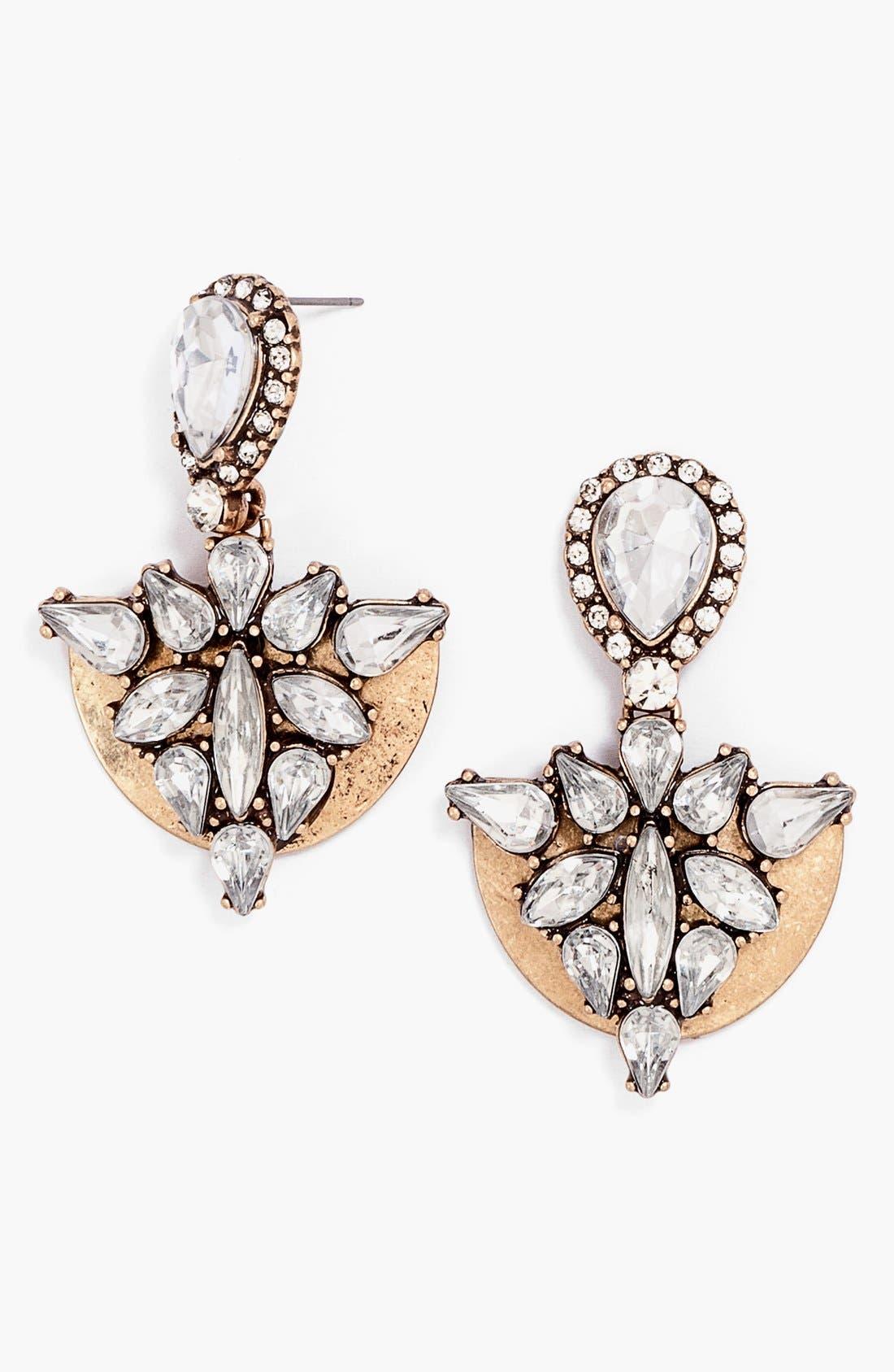Alternate Image 1 Selected - BaubleBar Cluster Drop Earrings