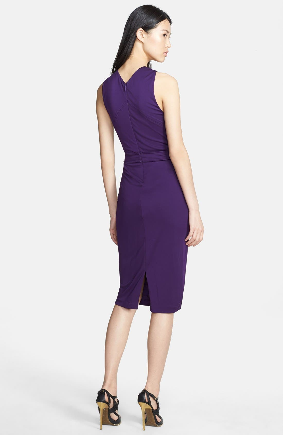 Alternate Image 2  - Roberto Cavalli Hardware Detail Halter Dress