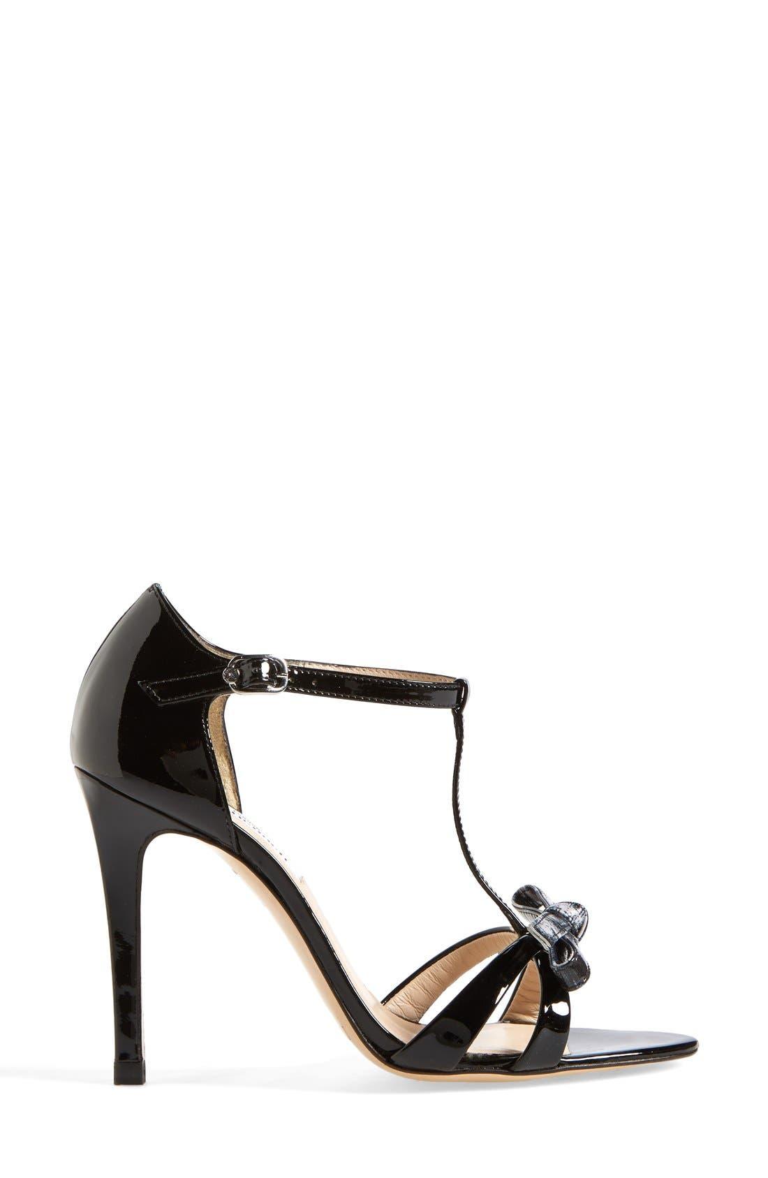 Alternate Image 4  - L.K. Bennett 'Anya' T-Strap Leather Sandal (Women)