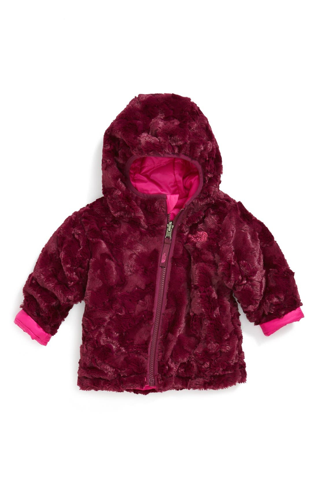 Alternate Image 3  - The North Face 'Mossbud Swirl' Reversible Water Repellent Jacket (Baby Girls)