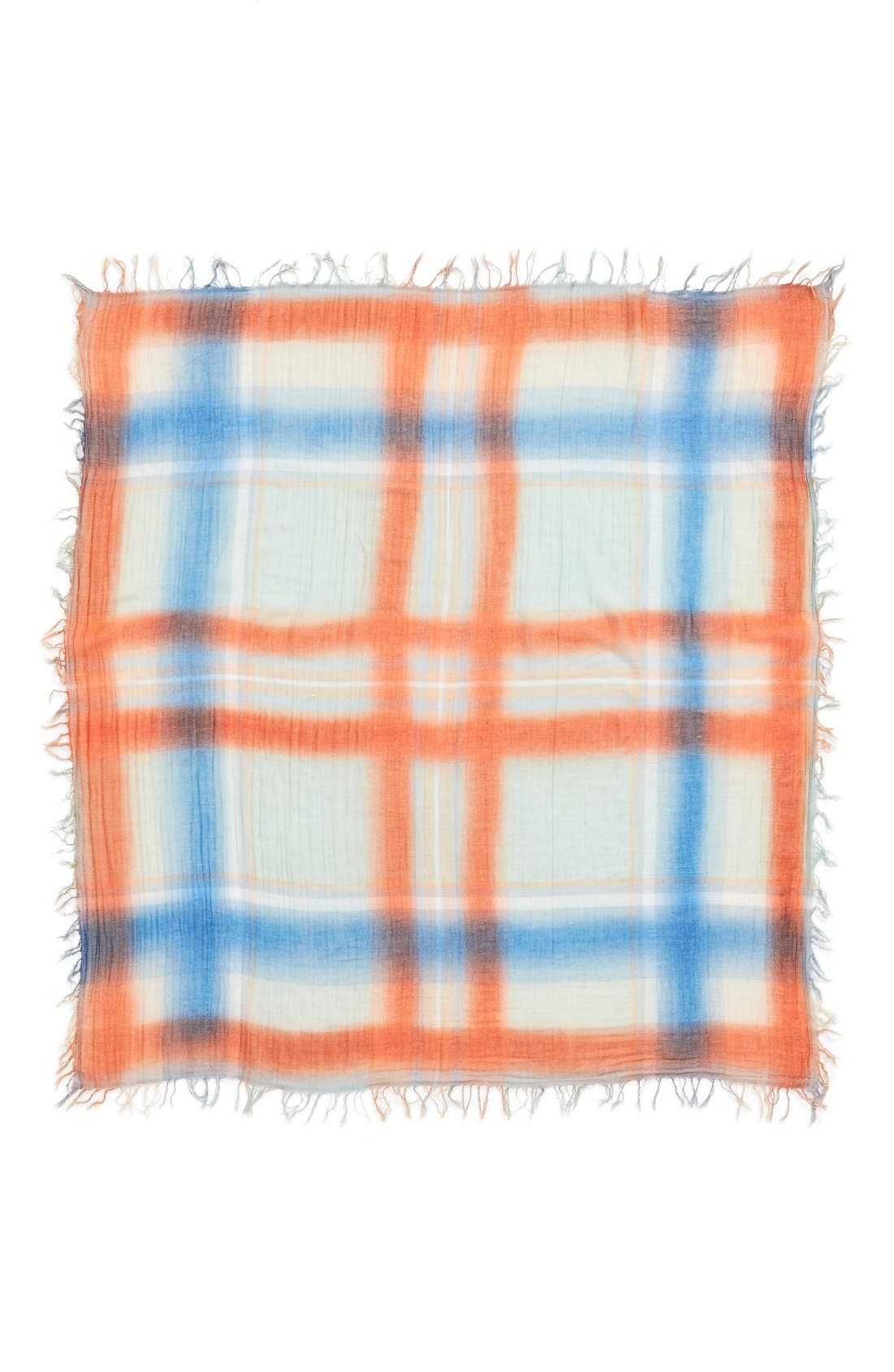 Alternate Image 2  - MARC BY MARC JACOBS 'Spray Plaid' Yarn Dyed Scarf