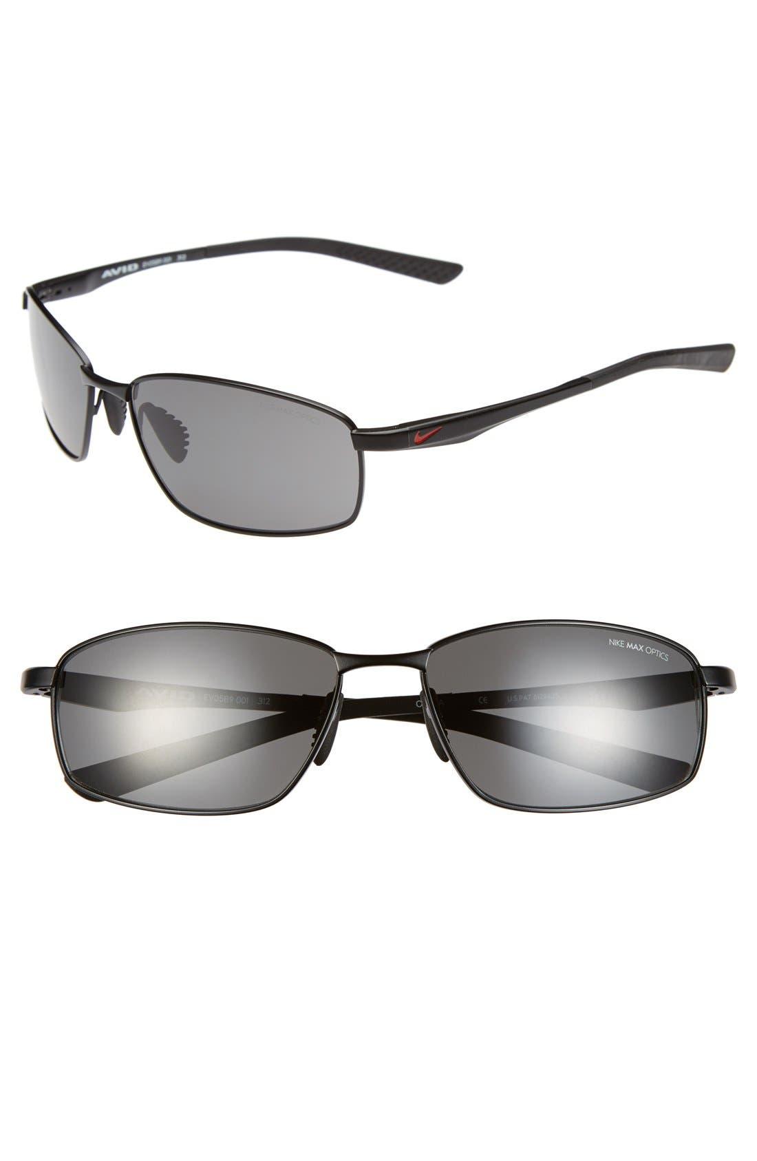 Main Image - Nike 'Avid' 57mm Sunglasses
