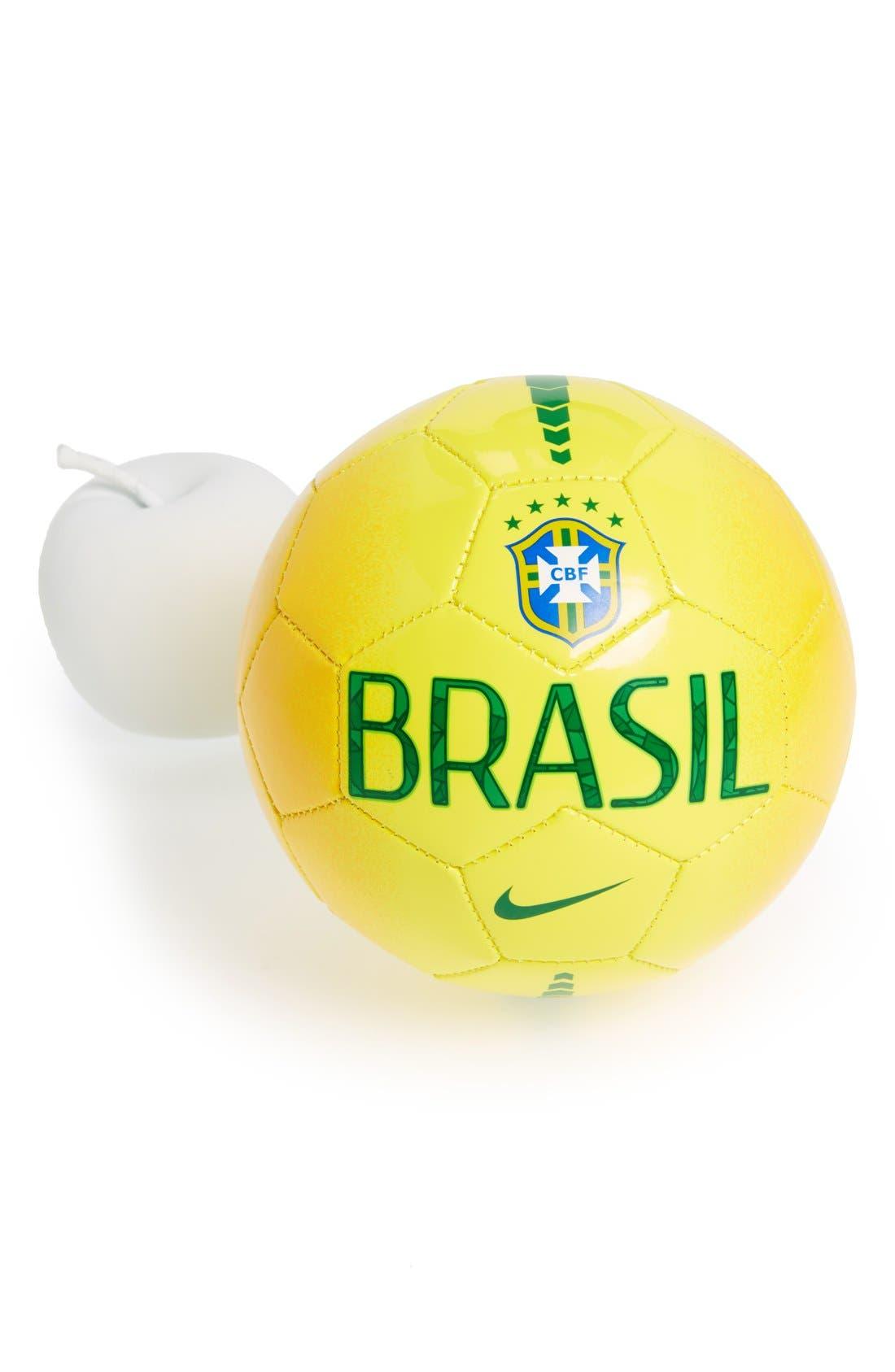 Alternate Image 2  - Nike 'Brasil Skills' Small Soccer Ball