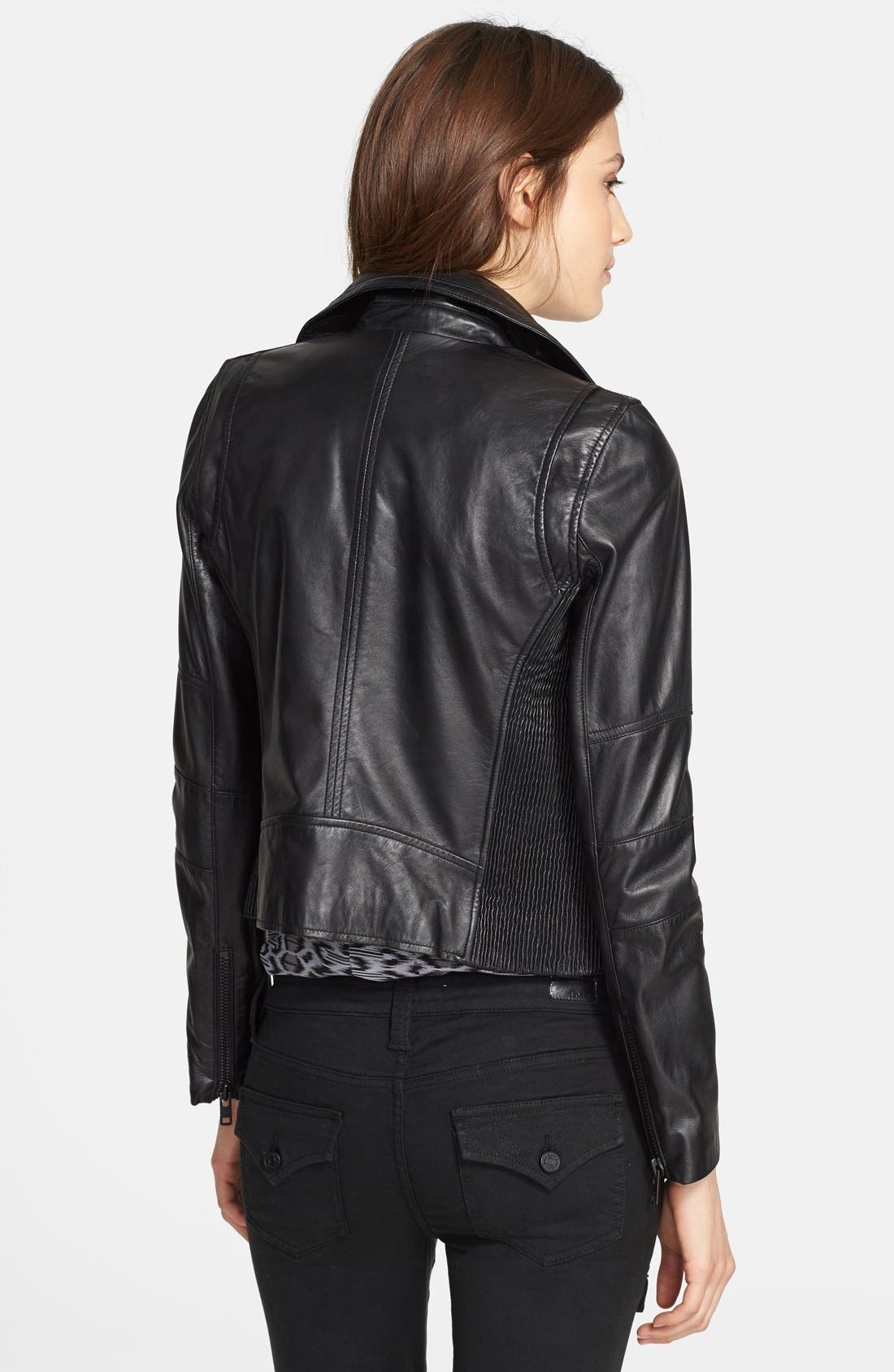 Alternate Image 2  - Joie 'Davey' Leather Jacket