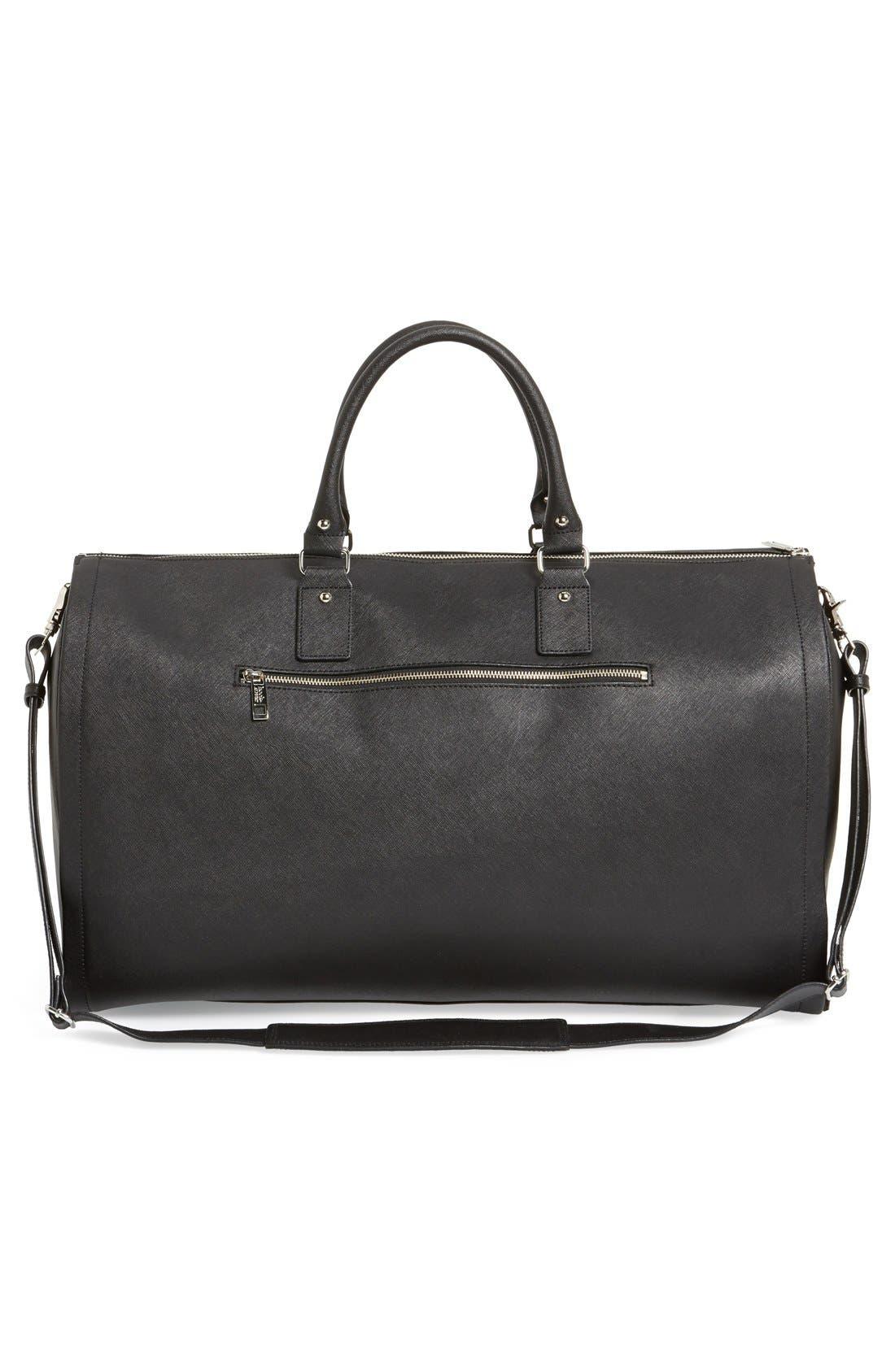 Alternate Image 3  - hook + ALBERT Saffiano Leather Garment/Duffel Bag