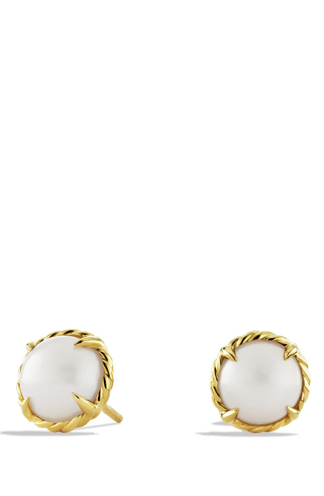 'Châtelaine' Earrings,                         Main,                         color, Pearl