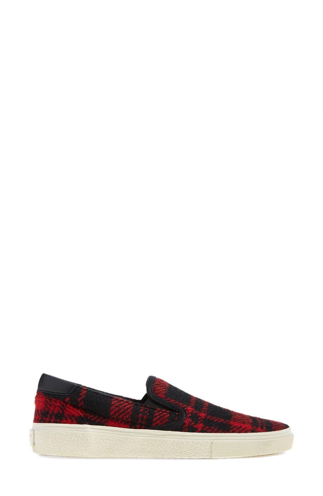 Alternate Image 4  - Saint Laurent 'Skate' Slip-On Sneaker (Women)