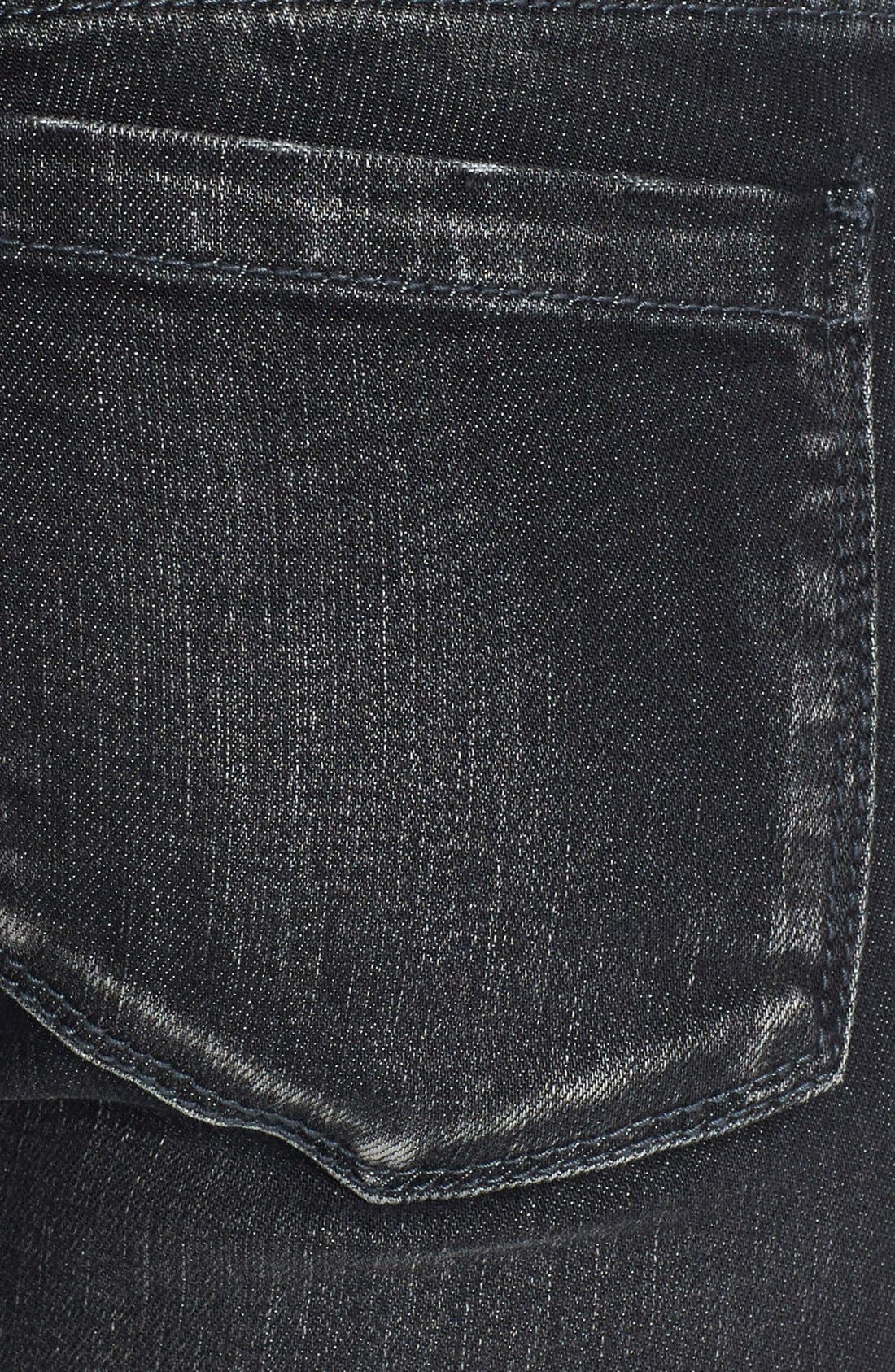 Alternate Image 3  - BLANKNYC Skinny Jeans (Grey Area Anatomy)