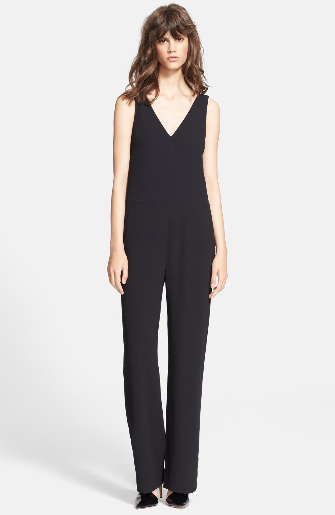 Alternate Image 1 Selected - Alexander Wang Crepe Jumpsuit