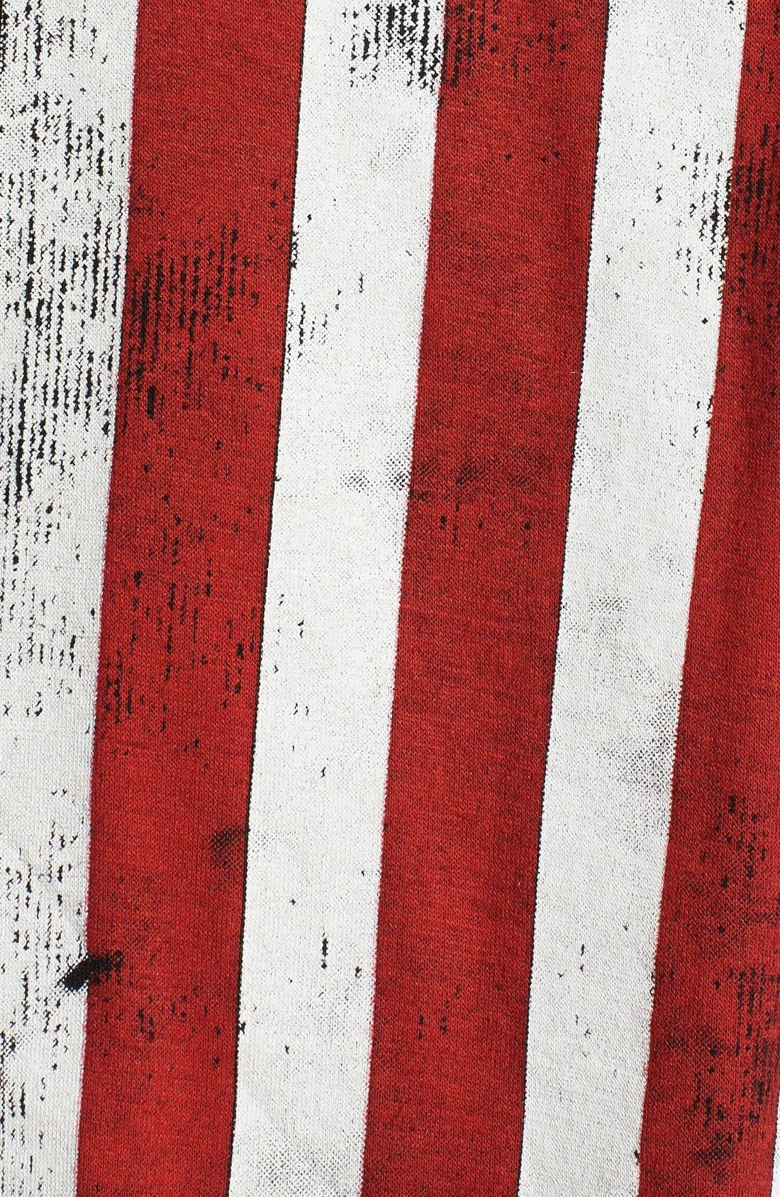 Alternate Image 3  - Rossmore Flag Graphic Muscle Tee (Juniors)