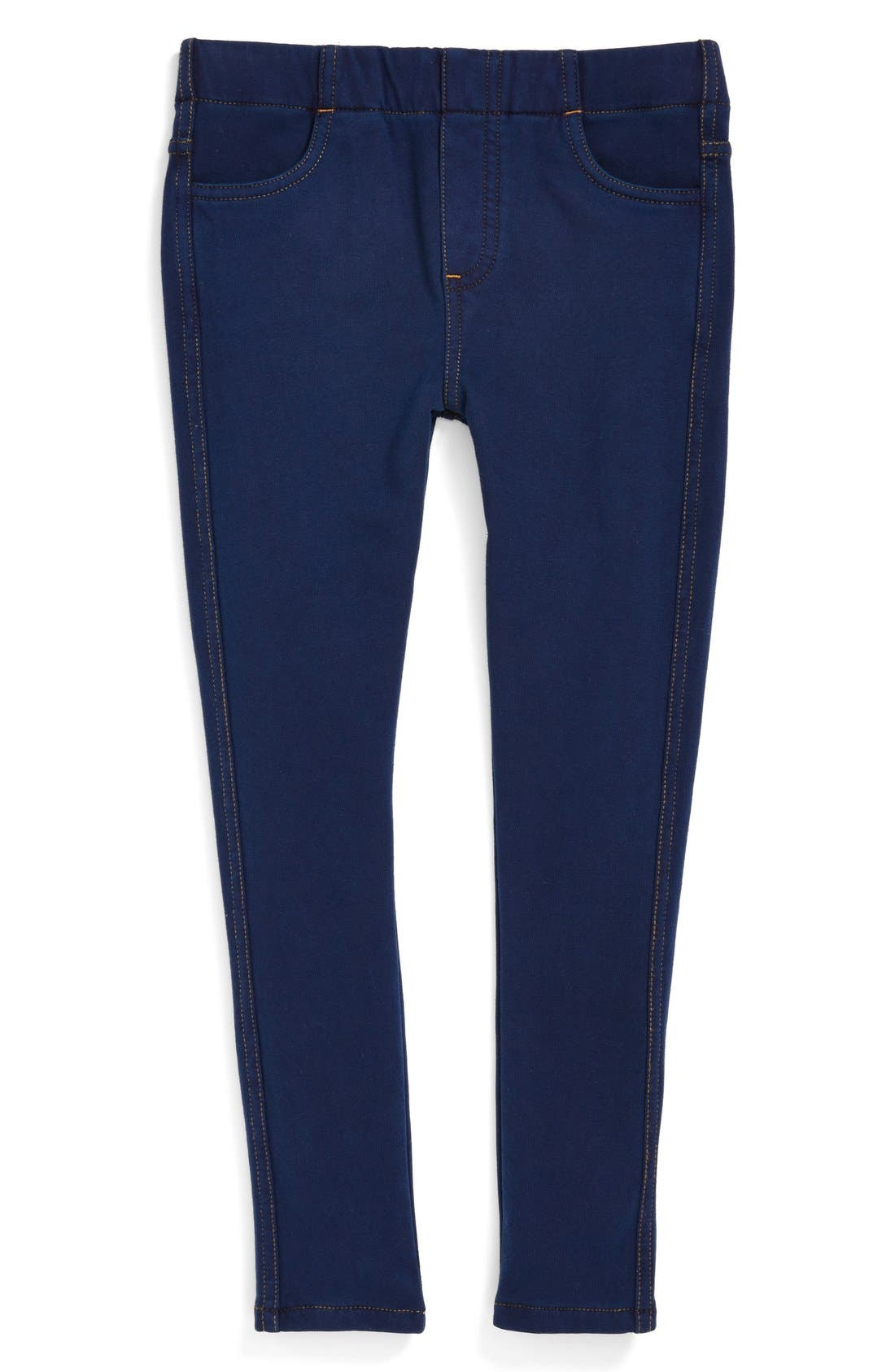 Main Image - Tucker + Tate 'Sadie' Denim Jeggings (Toddler Girls)