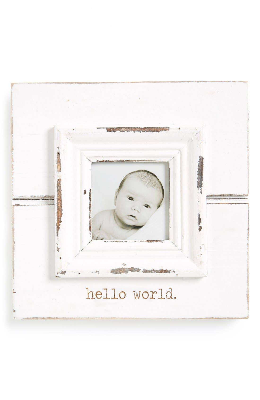 Mud Pie Hello World Picture Frame