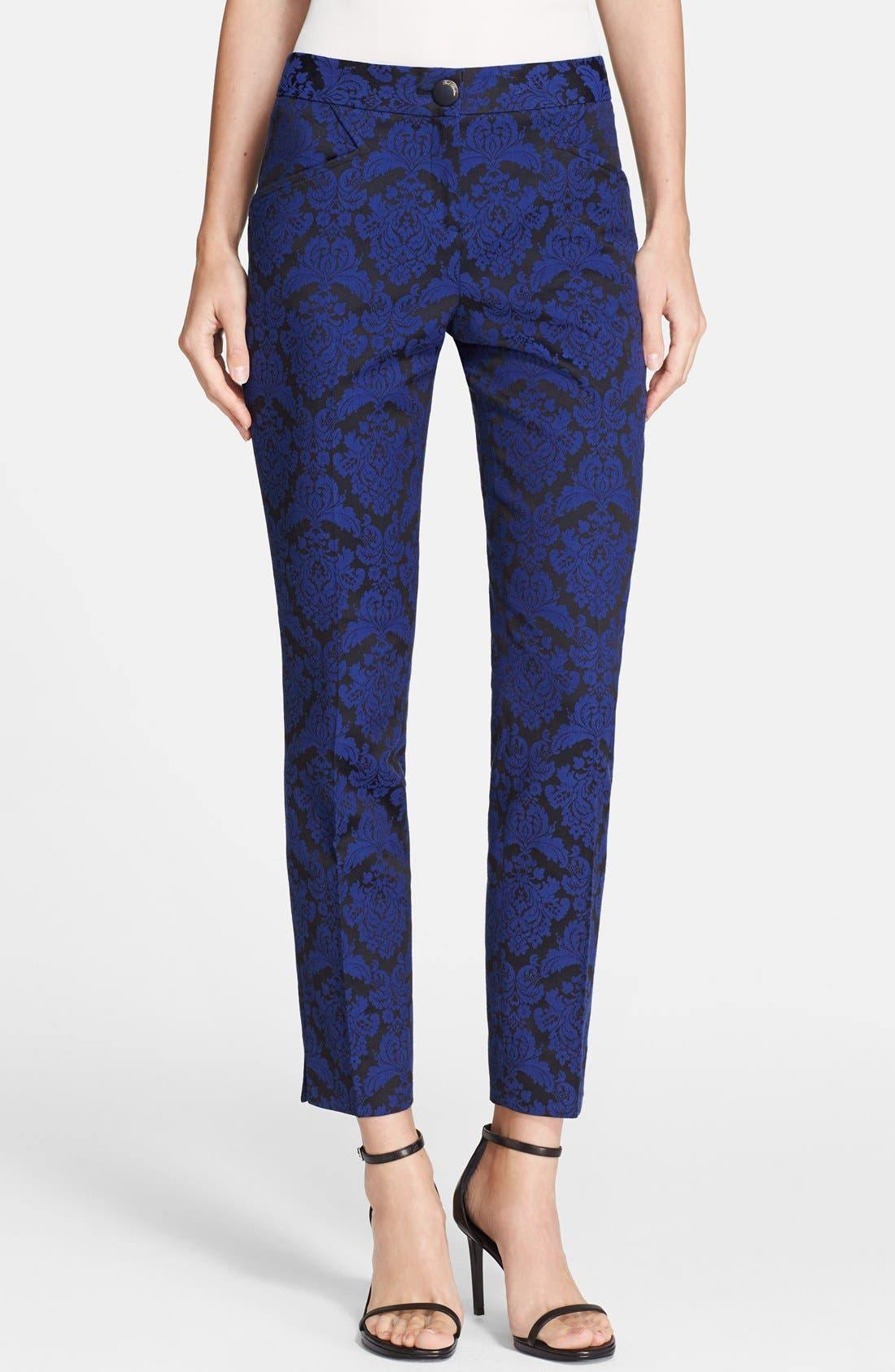 Alternate Image 1 Selected - Ted Baker London 'Iryst' Jacquard Suit Trousers